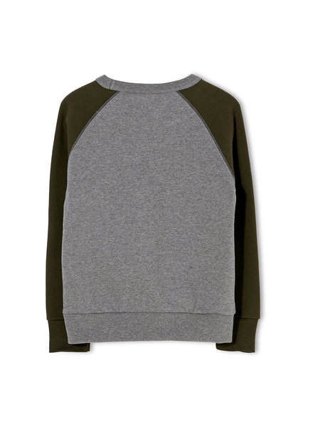 Finger in the nose Hank Sweater Dark Heather Grey