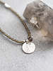 A Beautiful Story Truly Necklace Smokey Quartz Tree Silver