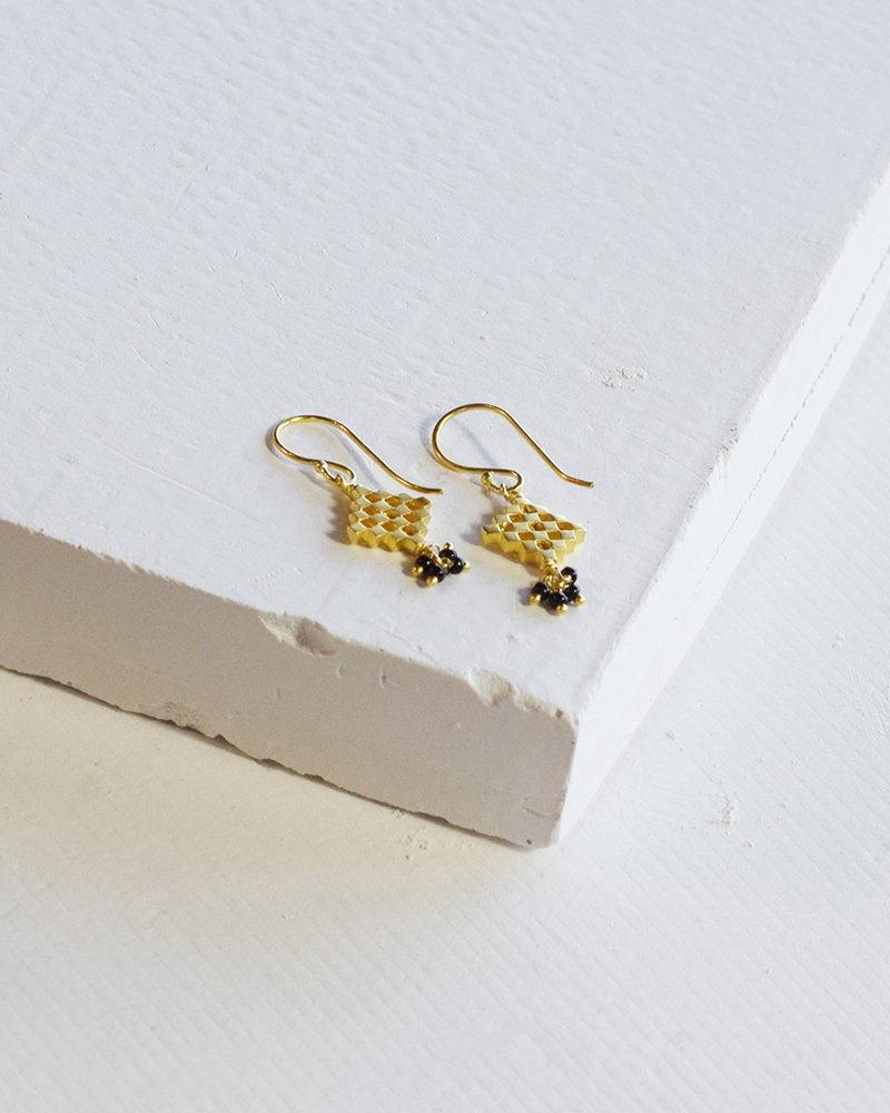By Bar PD Liz earring Gold