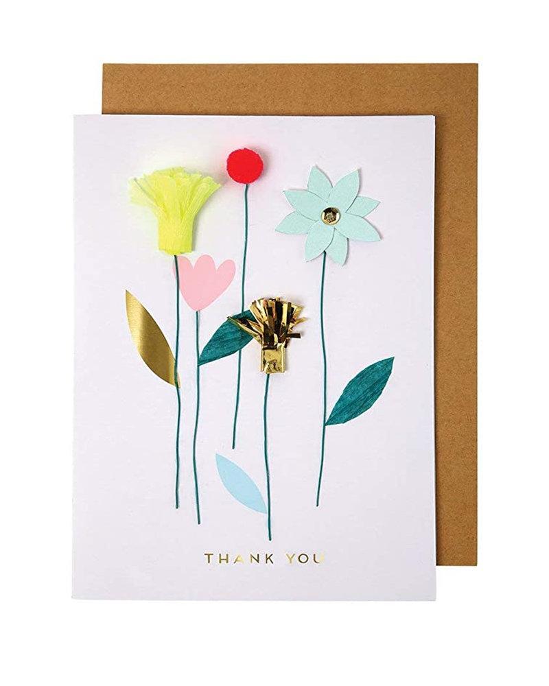 Meri Meri Bedankt kaartje Bloemen