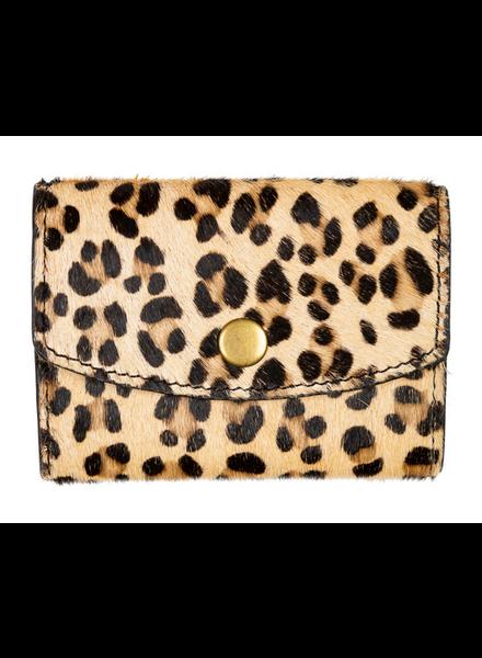 By Bar Hair Wallet Leopard