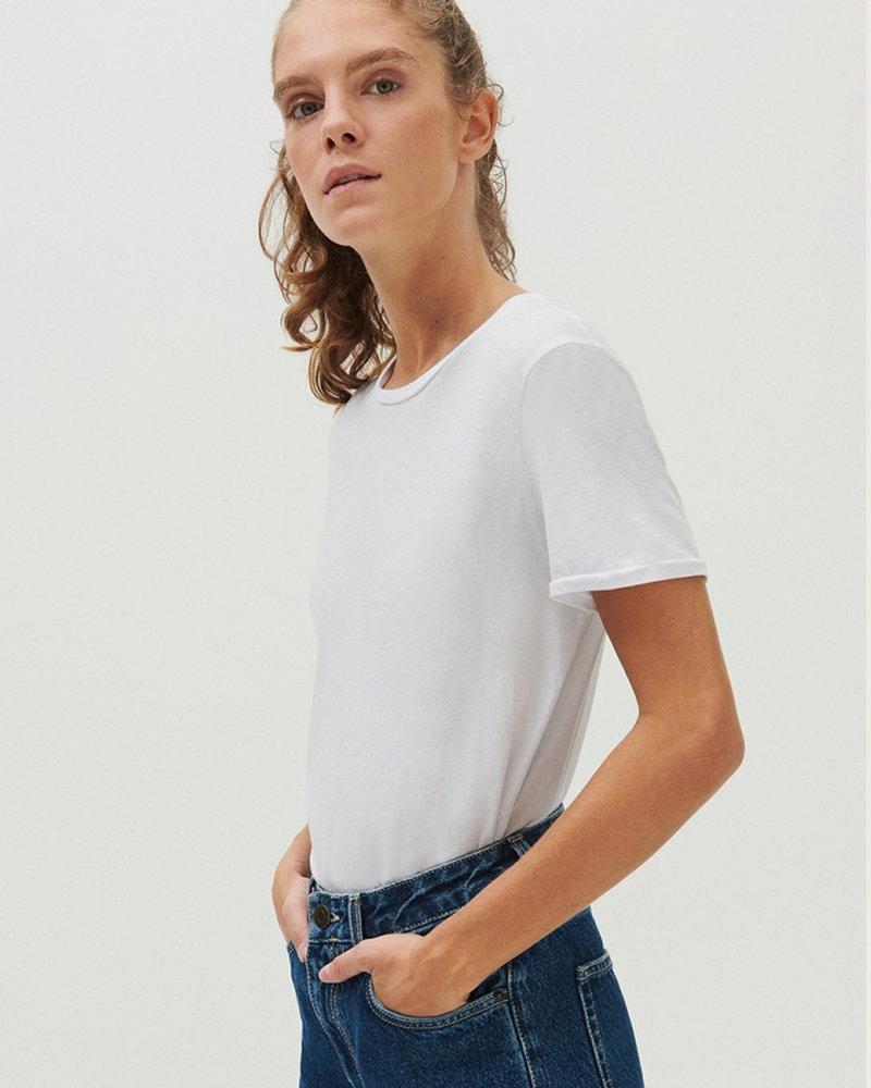 American Vintage Vegiflower Vegi54 T-shirt wit