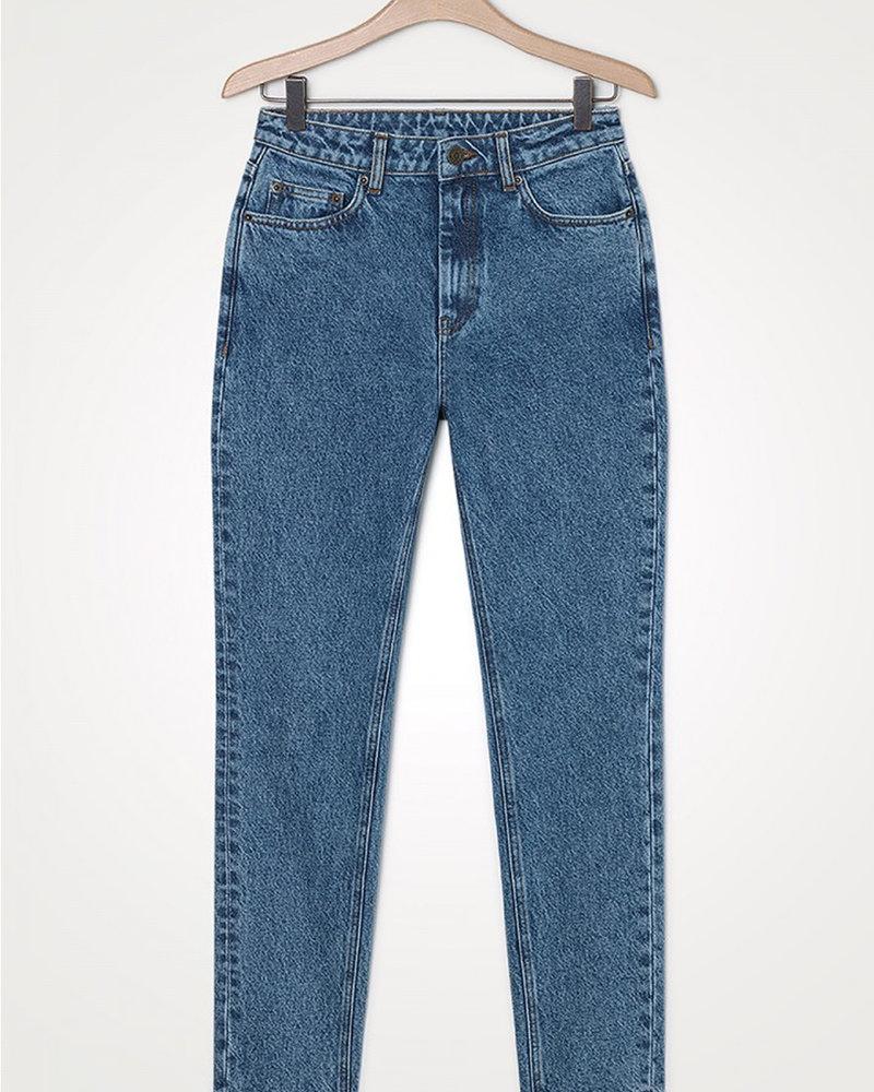 American Vintage Wipy Wip178 Jeans Stone Salt & Pepper