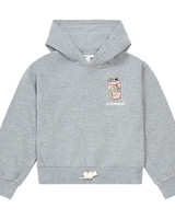 Hundred Pieces Hoodie Heather Grey