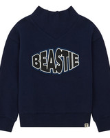 Hundred Pieces Sweater Beastie Midnight Blue