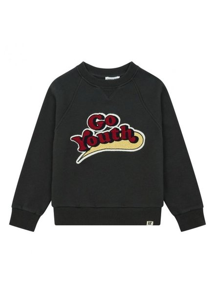 "Hundred Pieces Sweatshirt ""Go Youth"" Storm"