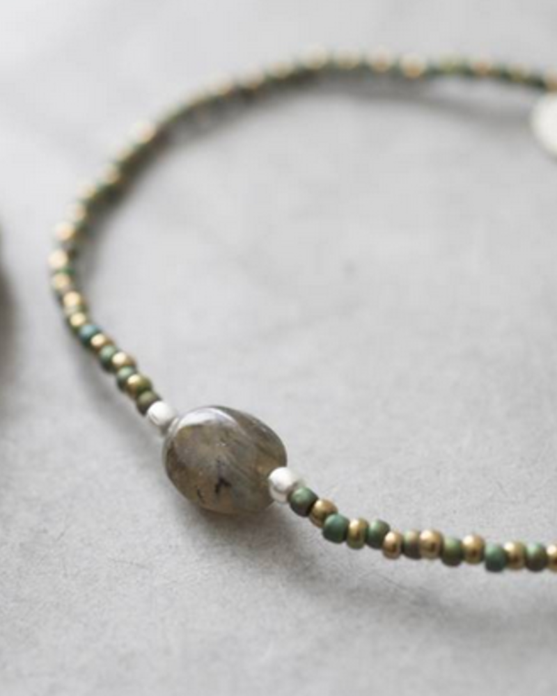 A Beautiful Story Winter Bracelet Labradorite Silver
