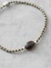 A Beautiful Story Winter Bracelet Smokey Quartz Silver