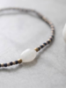 A Beautiful Story Winter Bracelet Moonstone Gold