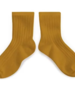 Collegien korte kousen 3450 'La Mini' - Moutarde de Dijon