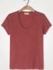 American Vintage T-shirt U-hals KM Jacksonville - Clafoutis Vintage