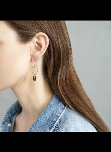 A Beautiful Story Graceful Earrings - Labradorite Silver