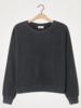 American Vintage Sweater Bowilove ML Col Rond - Zinc Vintage