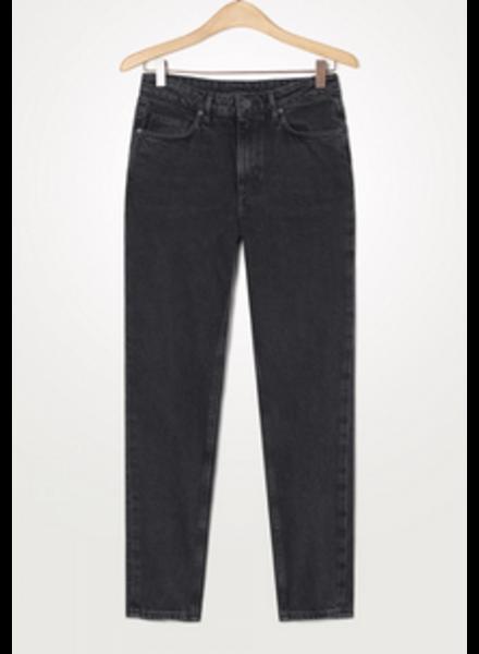 American Vintage Jeans Yopday Le Fitte - Black Poivre Sel