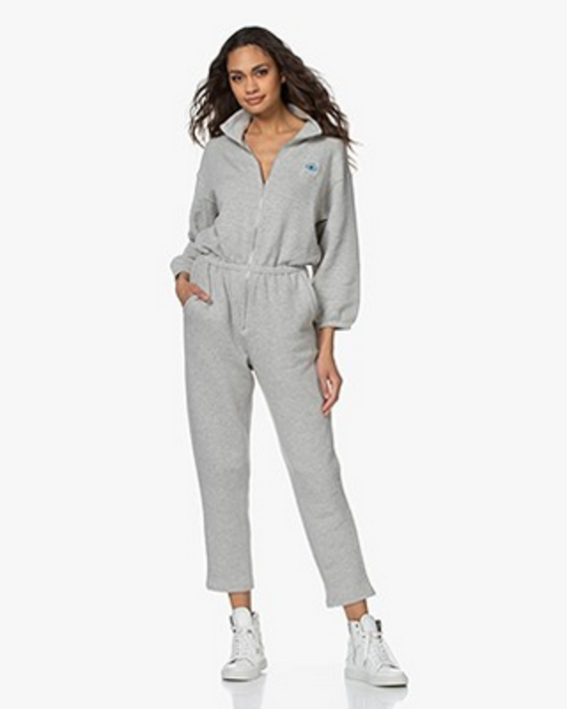 American Vintage Jumpsuit homepack Oming - Polaire Chiné