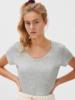 American Vintage T-shirt U-hals KM Jacksonville - Milkshake Vintagee