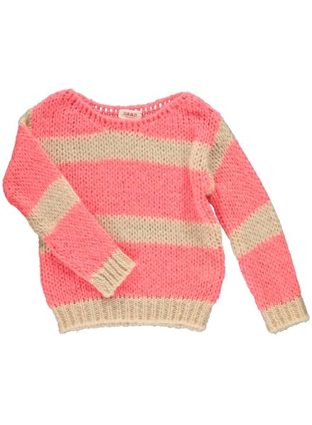 Maan Pull Angel Knitted Jumper - Candy