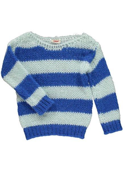 Maan Pull Angel Knitted Jumper - Navy