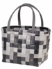 Handed By Shopper Color Block Mix  - Black