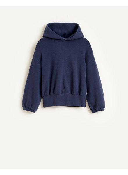 Bellerose Sweatshirt met kap Vanii - Blue Nights