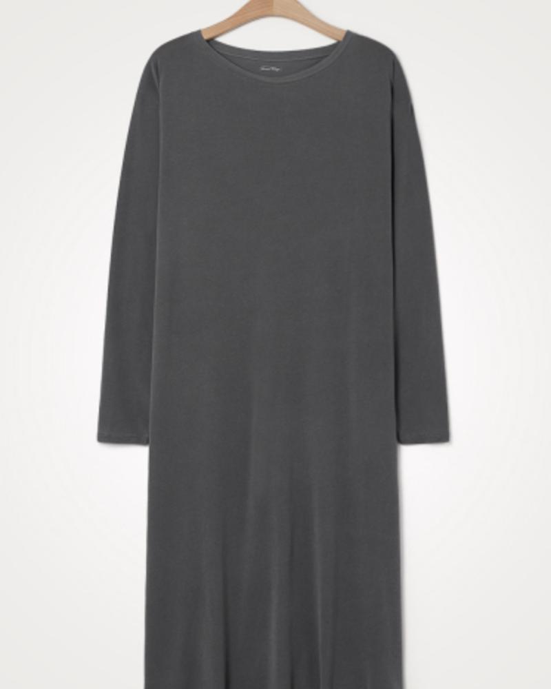 American Vintage Lange mouwen jurk Vegiflower Metal