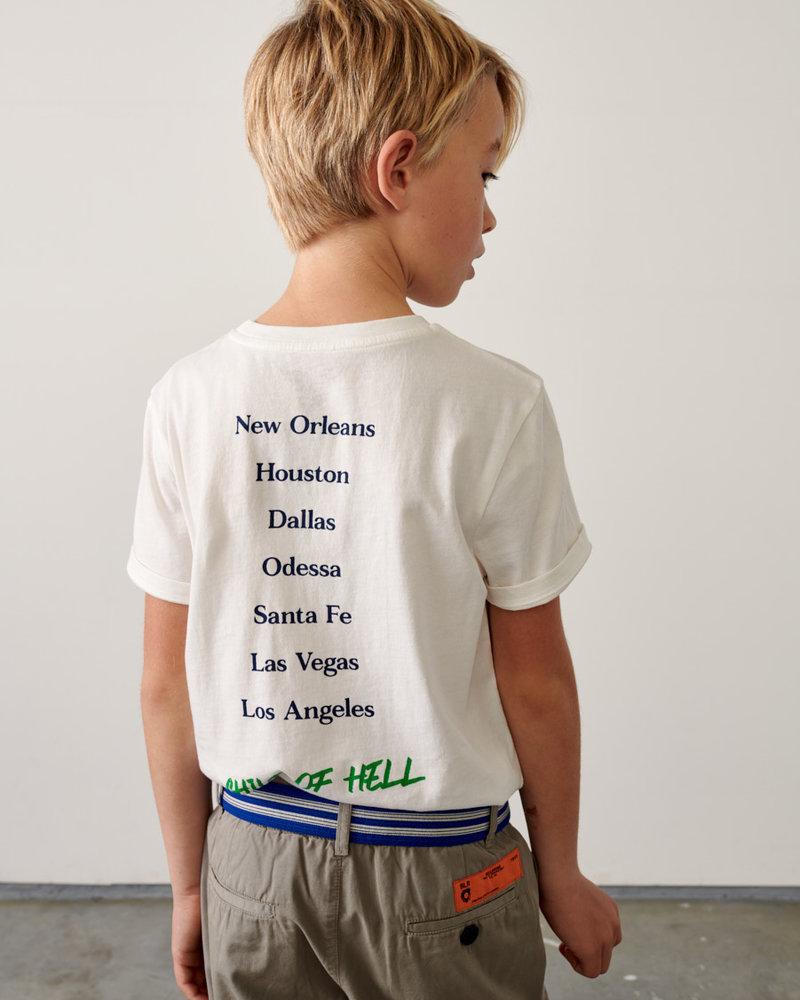 Bellerose T-shirt Kenny11 Vintage White