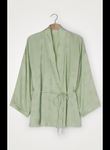 American Vintage Kimono jas Gitaka Gita16A Jade