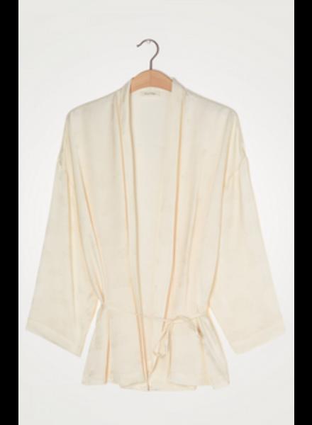 American Vintage Kimono jas Gitaka Gita16A Nacre