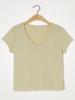 American Vintage T-shirt korte mouw V-hals Sonoma Toundra Vintage