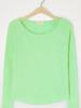 American Vintage T-shirt lange mouw boothals Sonoma Chrysalide Vintage