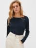 American Vintage T-shirt lange mouw boothals Sonoma Rosee Vintage