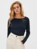 American Vintage T-shirt lange mouw boothals Sonoma Toundra Vintage
