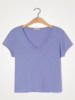 American Vintage T-shirt korte mouw V-hals Sonoma Bleute Vintage