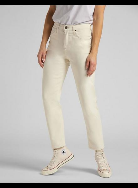 Lee Jeans Jeans Carol Cropped Straight - Ecru