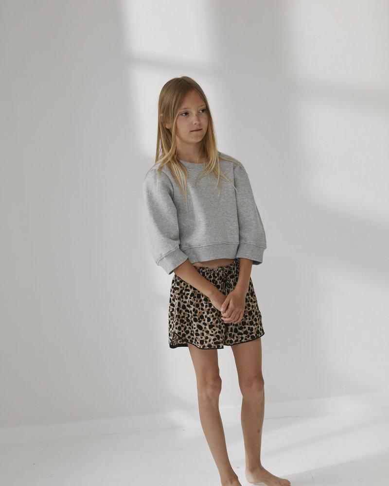 Little Remix Designers G Parker Sleeve Sweater - L. Grey Melange