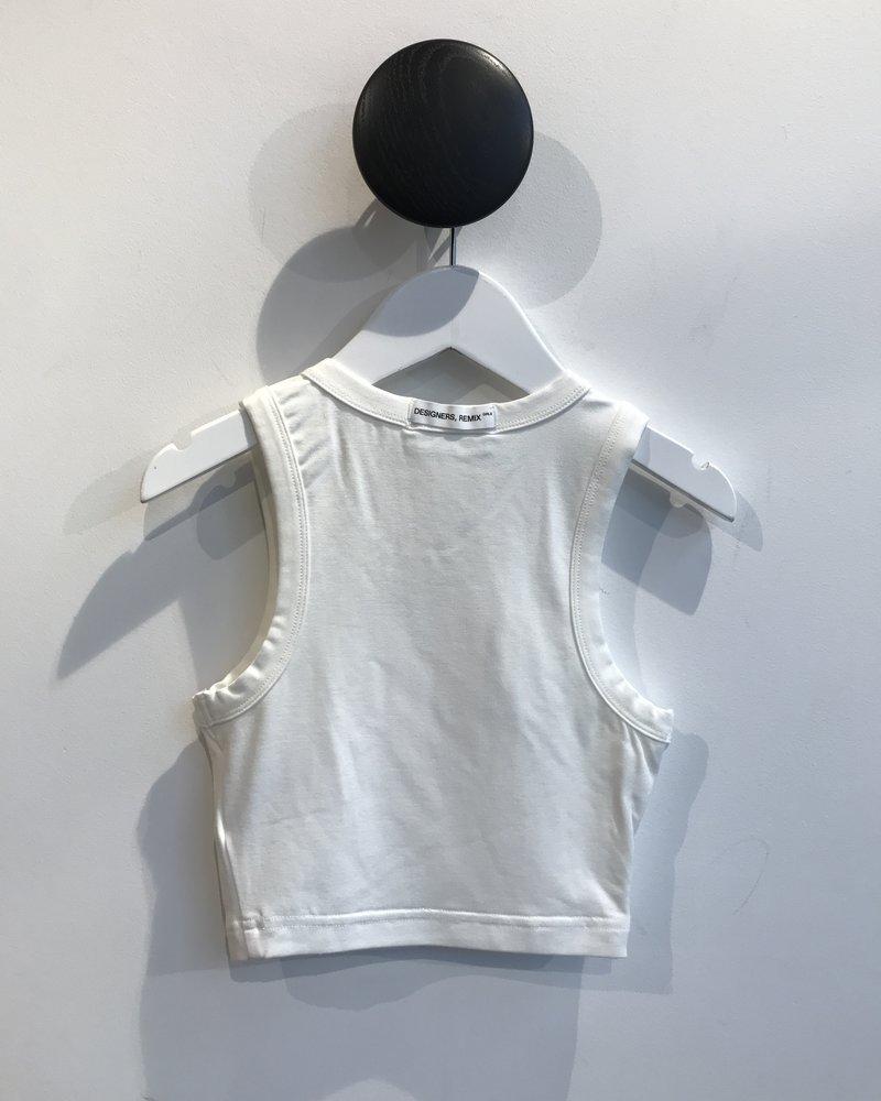 Little Remix Designers G Stretch Top - White