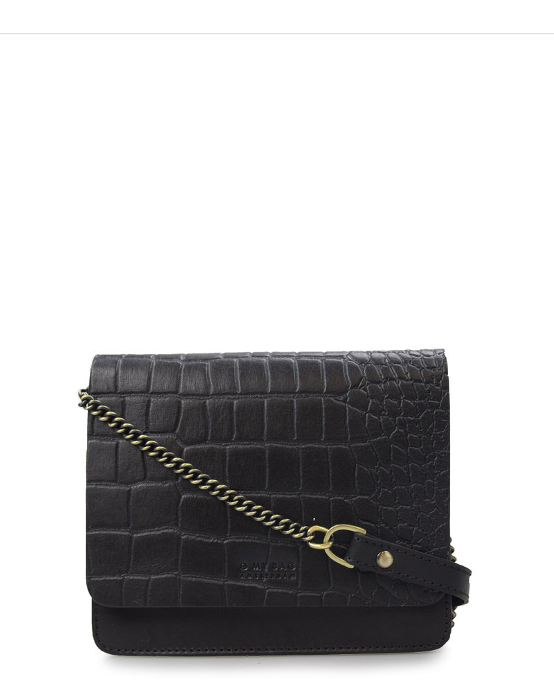 O My Bag Audrey Mini Classic Leather Chain Strap