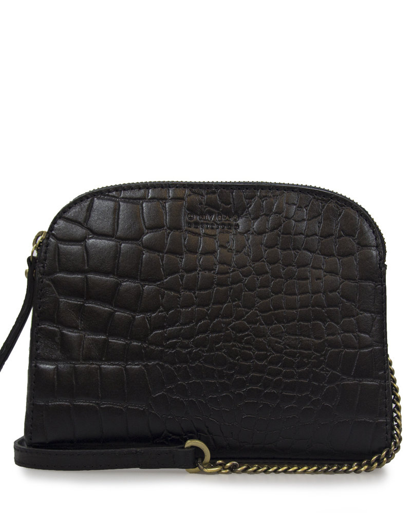 O My Bag Emilly Classic Leather Chain/Leather Strap