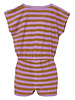 Finger in the nose Jumpsuit Aileen Caramel/Parma Stripes