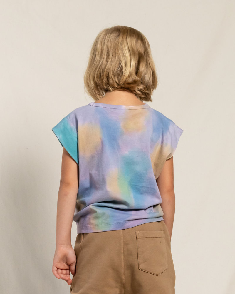 Finger in the nose Mouwloos T-shirt Haley Rainbow Tie & Dye
