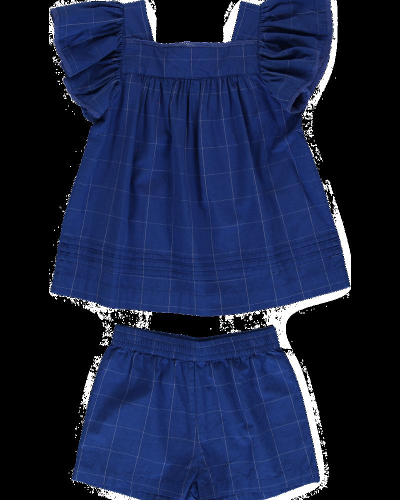 Dorélit Pyjama Elodie/Cupido Check Blue