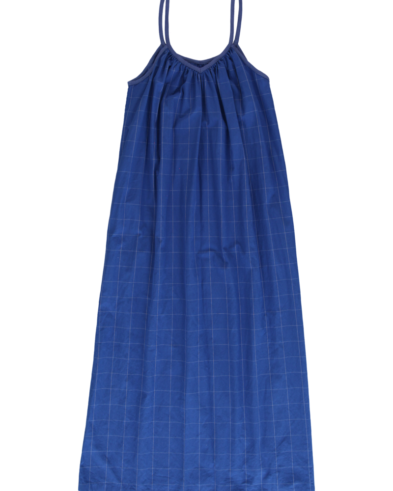 Dorélit Nachtkleed Dames Elektra Check Blue
