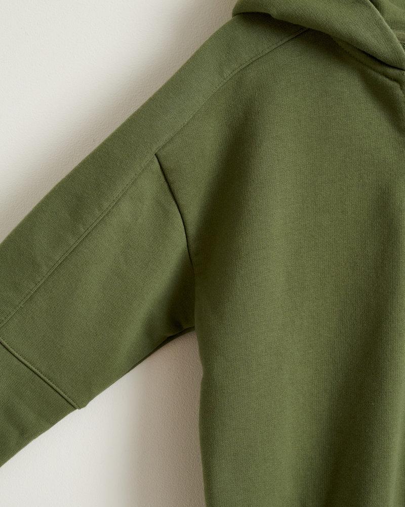 Bellerose Sweatshirt met capuchon Biekon Army