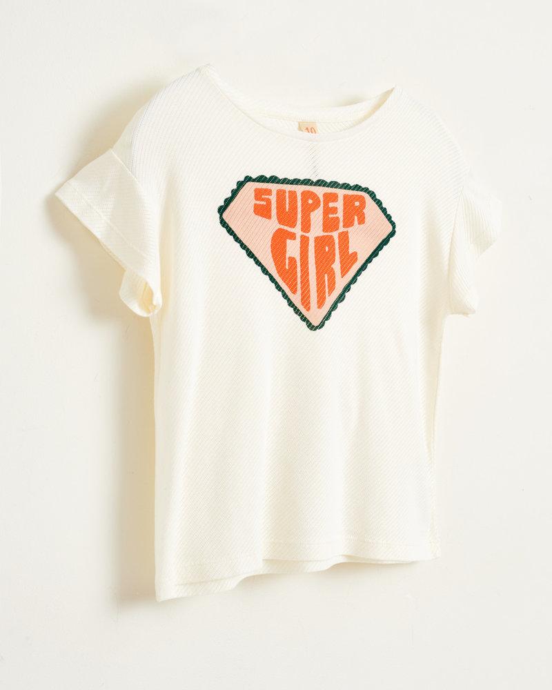 Bellerose T-shirt Vou Off White