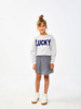 By Bar Girls Rosan Sweater Illu Grey