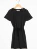 By Bar Girls Febe Dress Jet Black