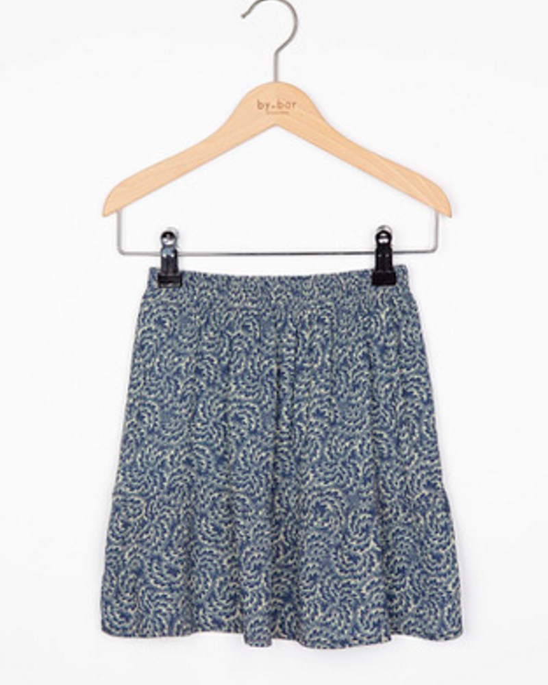 By Bar Girls Charlie Skirt Botanic Blue
