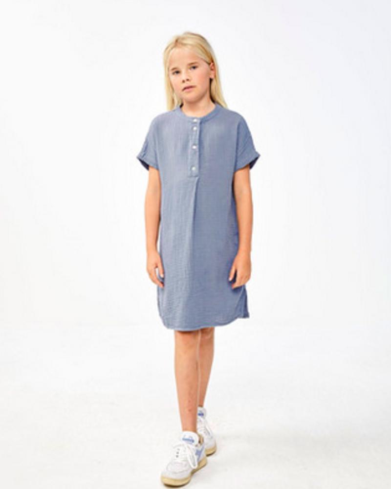 By Bar Girls Otty Dress Foggy Blue