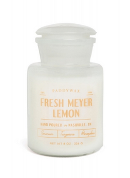 Paddywax Farmhouse geurkaars Fresh Meyer Lemon