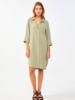 By Bar Zoe Nakai Dress Bright Olive
